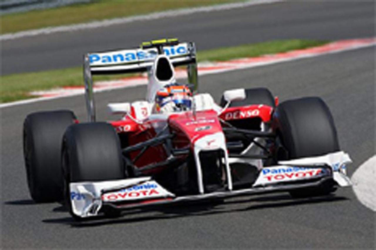 トヨタ F1ベルギーGP初日