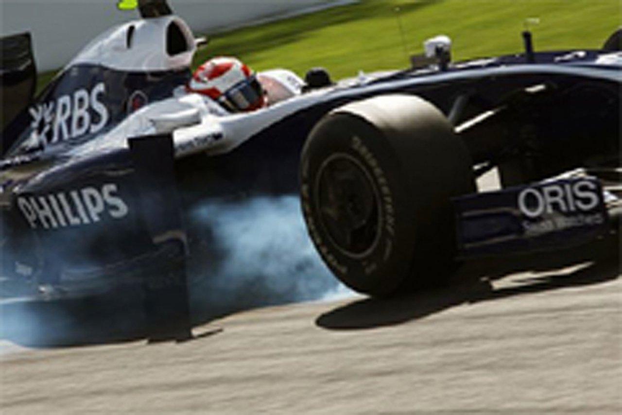ウィリアムズ F1ベルギーGP初日