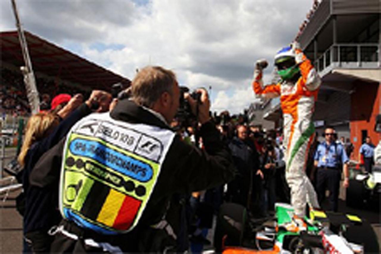 F1ベルギーGP マシン重量