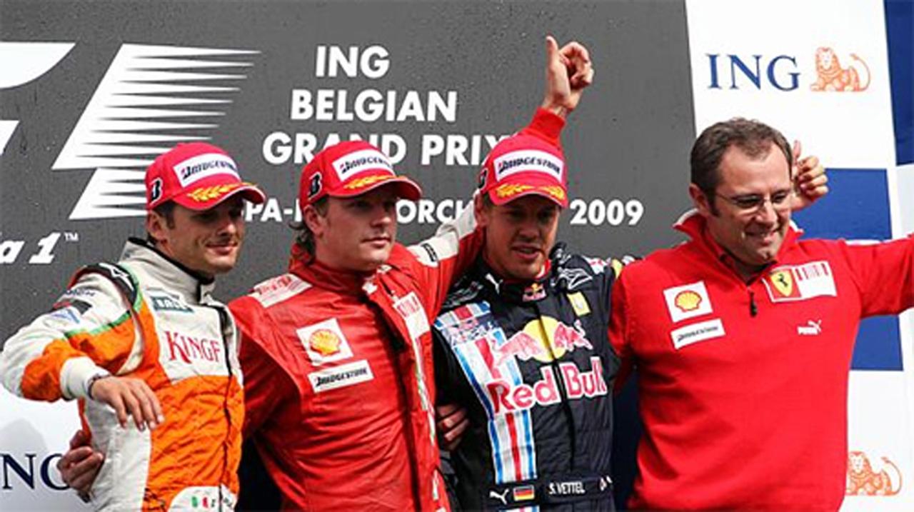 F1 ベルギーGP決勝 ドライバーコメント