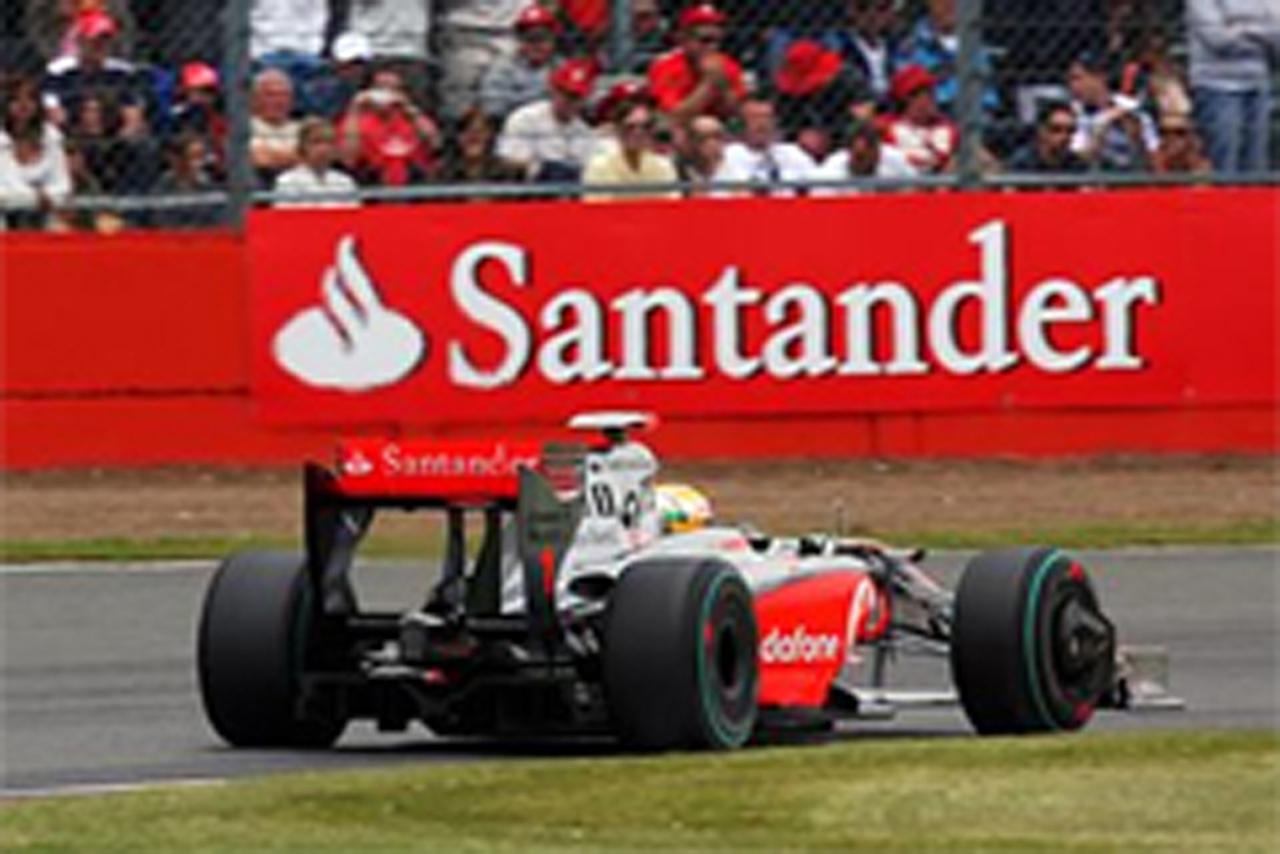 マクラーレン、サンタンデール銀行との契約延長を発表 【 F1-Gate.com 】
