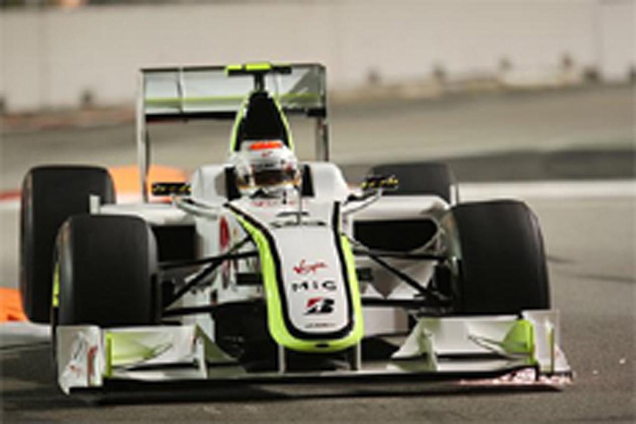 F1シンガポールGP フリー走行1回目 ルーベンス・バリチェロ
