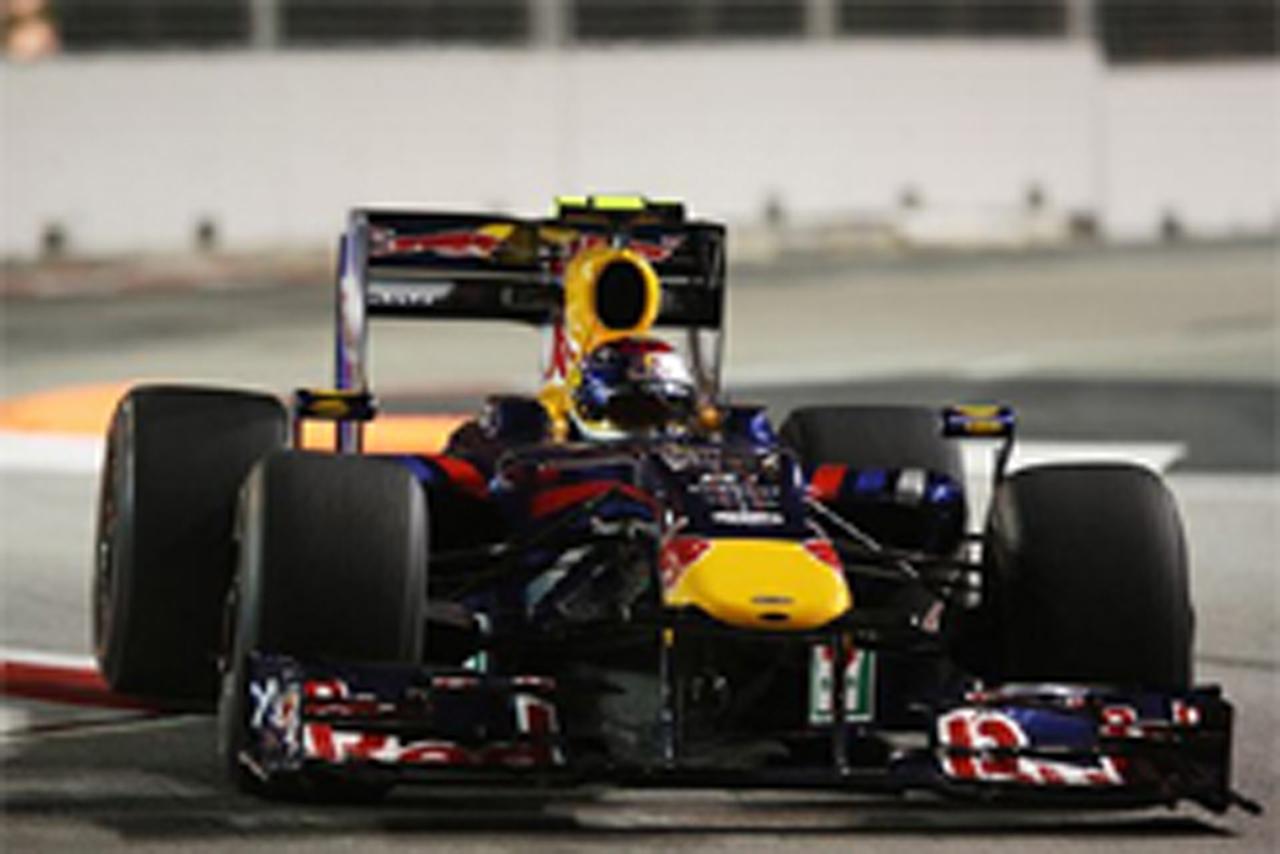 F1シンガポールGP フリー走行2回目 セバスチャン・ベッテル