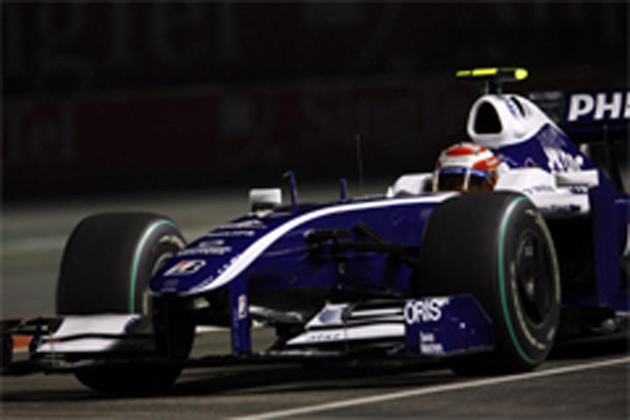 中嶋一貴 F1シンガポールGP 予選