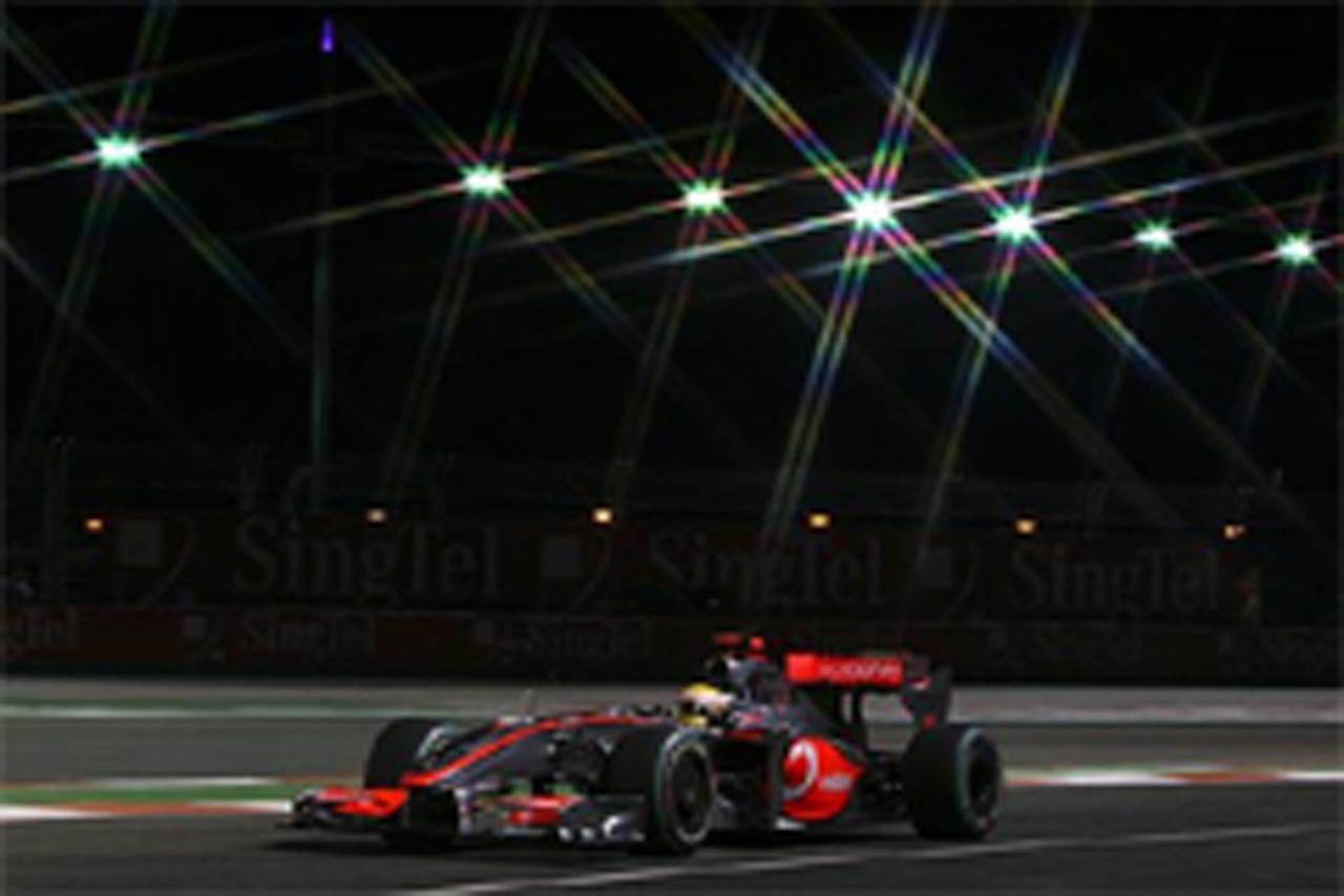 F1シンガポールGP 予選 ルイス・ハミルトン