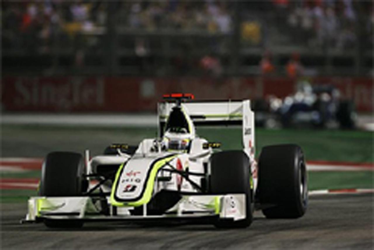 ブラウンGP F1シンガポールGP 結果