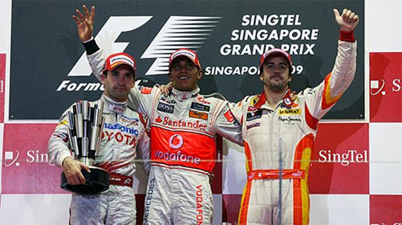 F1シンガポールGP 決勝 ドライバーコメント