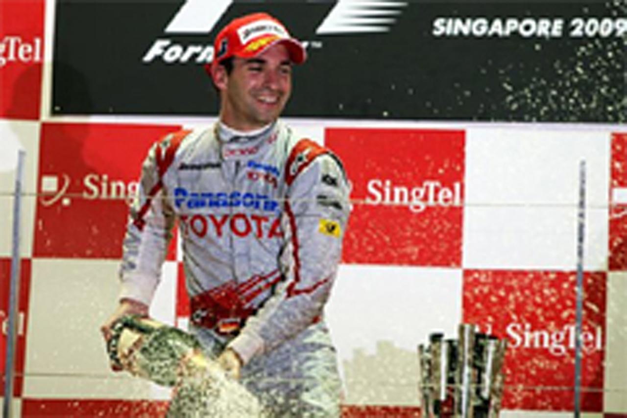 トヨタ F1シンガポールGP 結果
