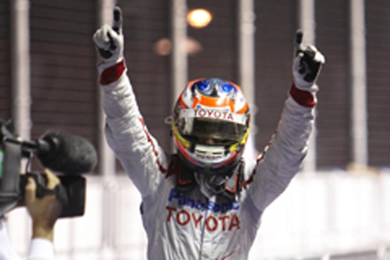 ティモ・グロック F1シンガポールGP 2位表彰台