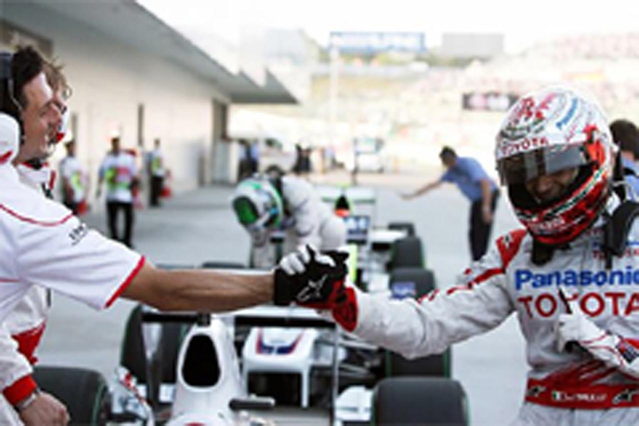 F1日本GP マシン重量