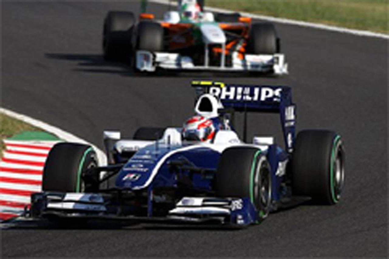 中嶋一貴 ウィリアムズ F1日本GP 結果