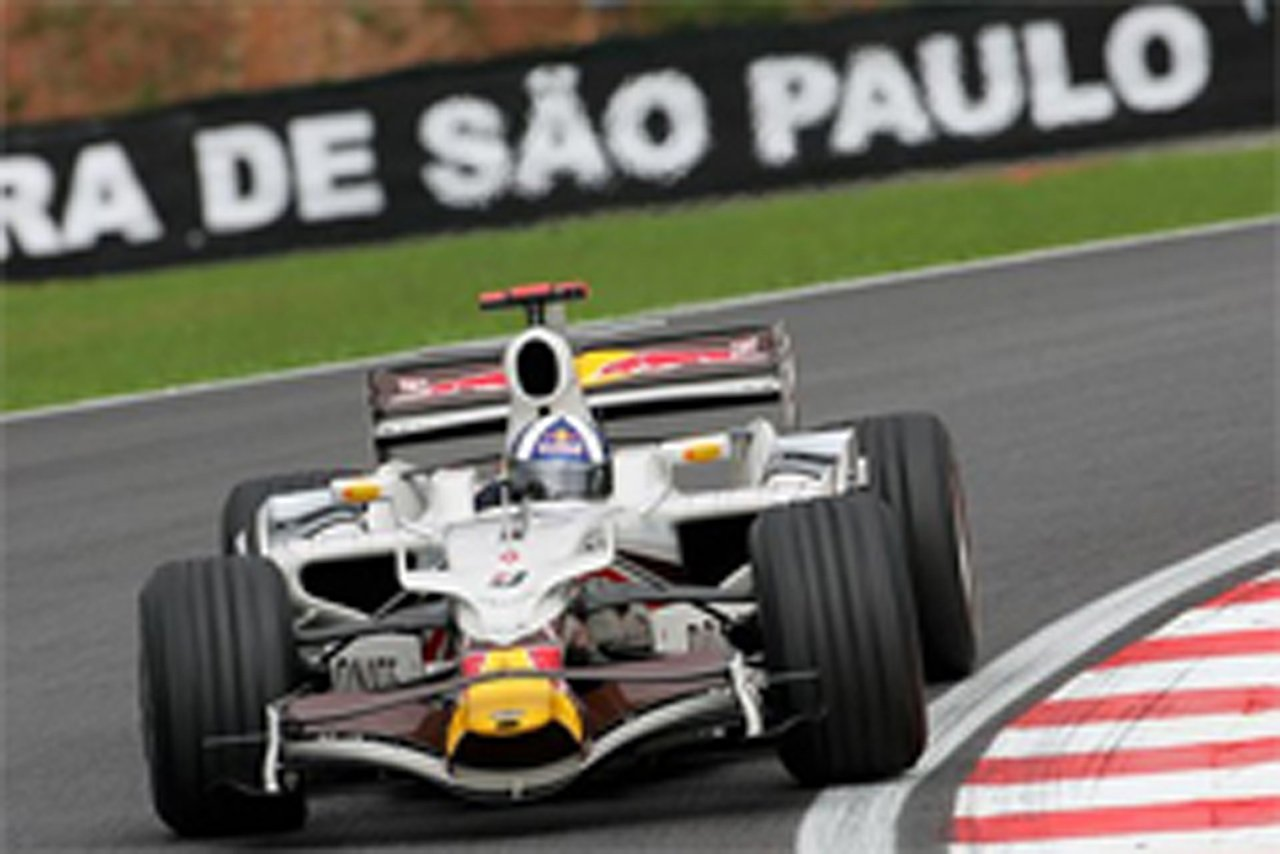 デビッド・クルサード F1ブラジルGP