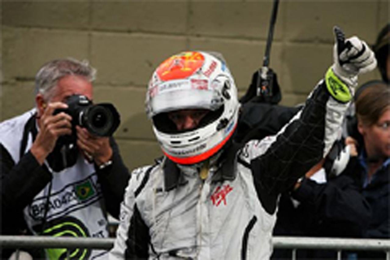 ルーベンス・バリチェロ ポールポジション F1ブラジルGP
