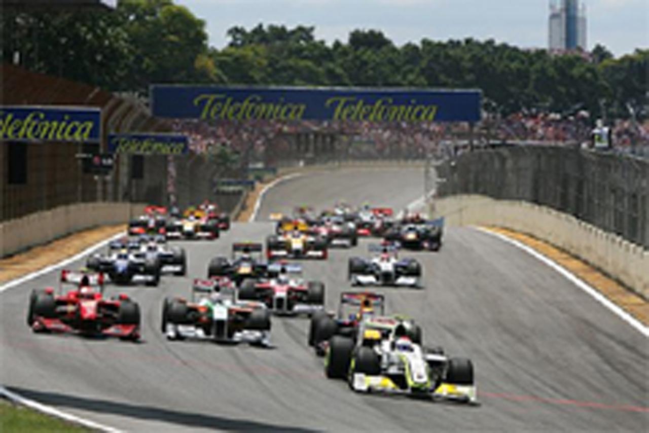 F1ブラジルGP 決勝 結果
