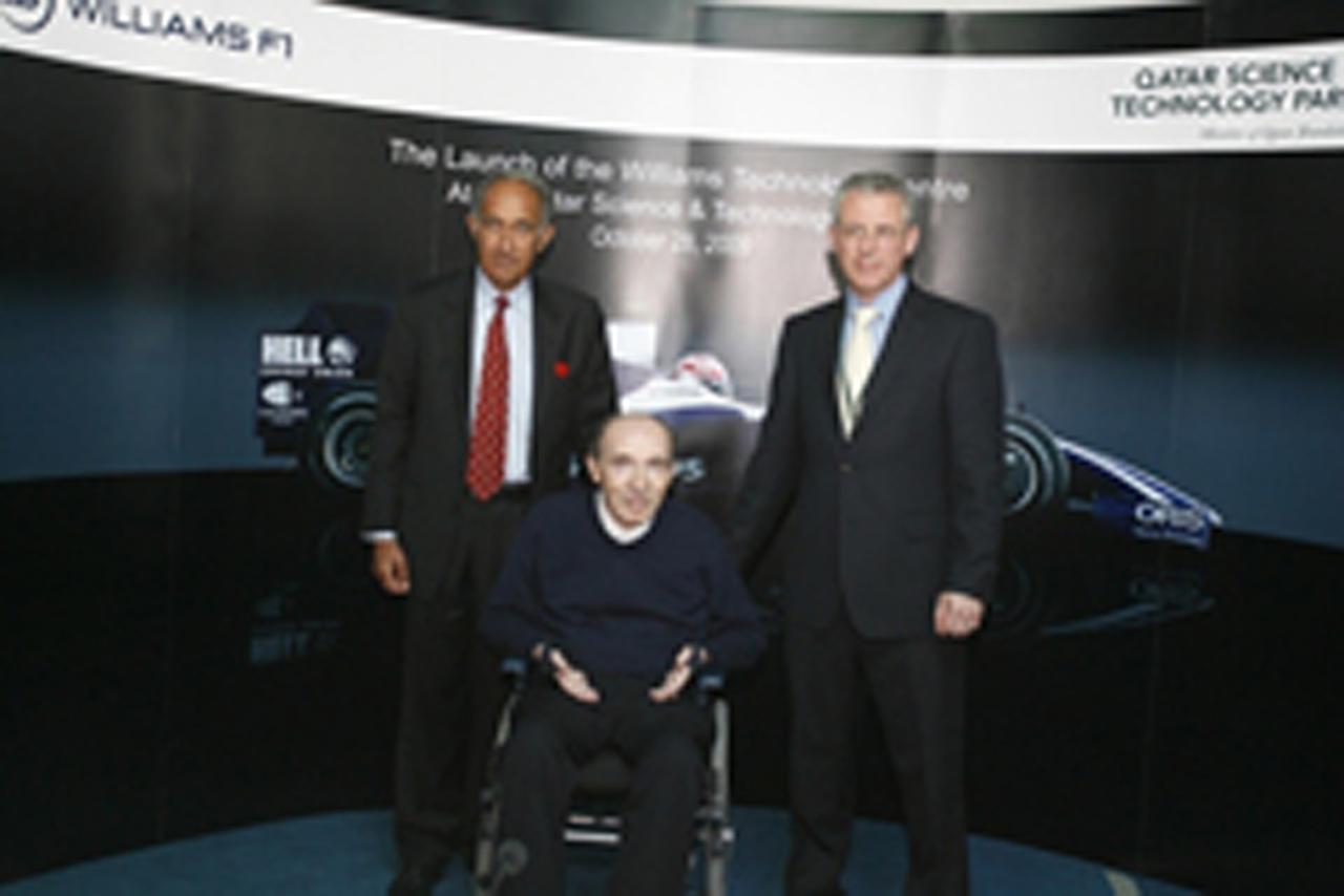 ウィリアムズ、カタールにテクノロジー・センターを設立