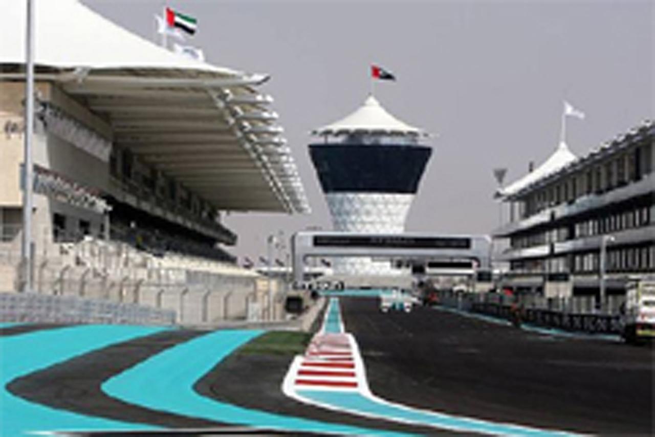 F1アブダビGP フリー走行1回目