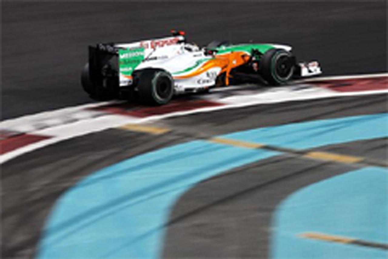 フォース・インディア F1アブダビGP初日 結果