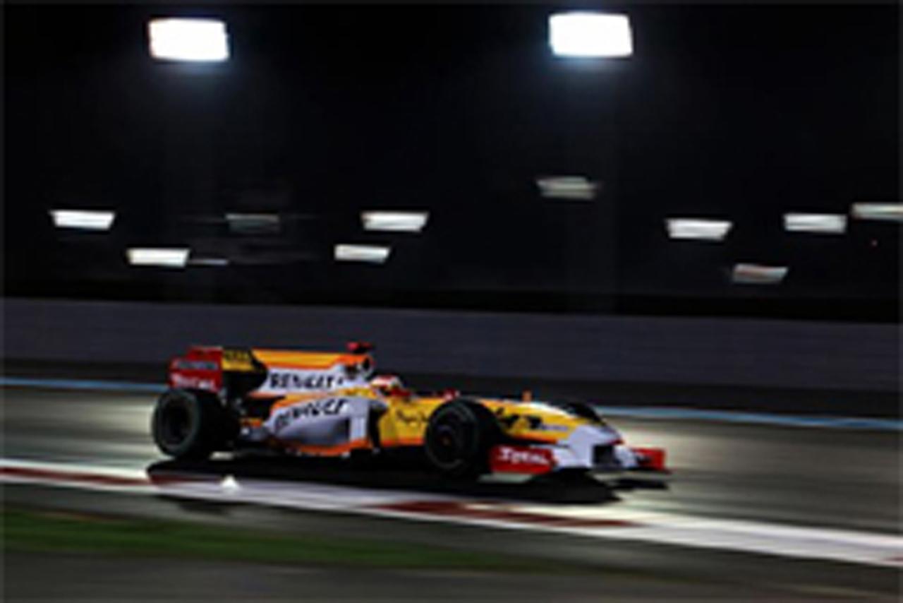 ルノー F1アブダビGP初日 結果