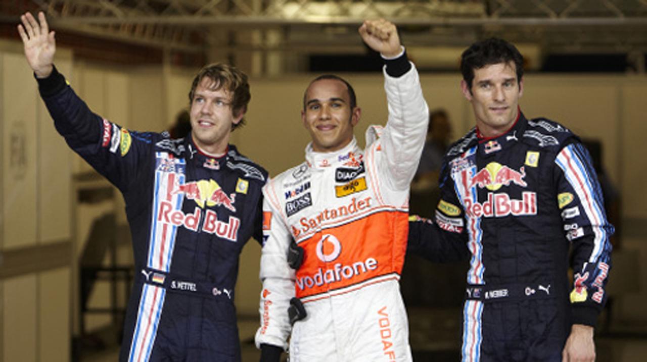 F1 アブダビGP 予選 ドライバー