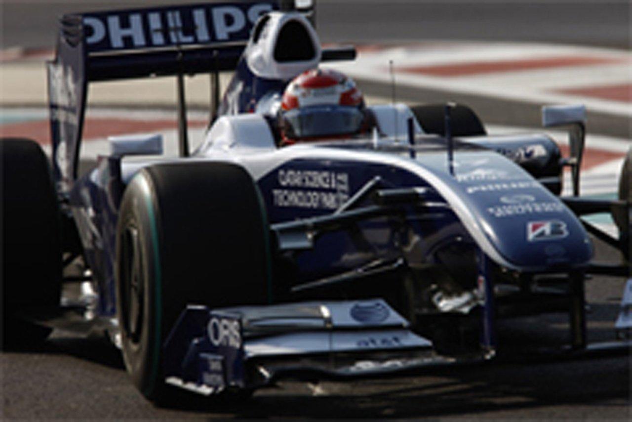 中嶋一貴 ウィリアムズ F1アブダビGP 予選