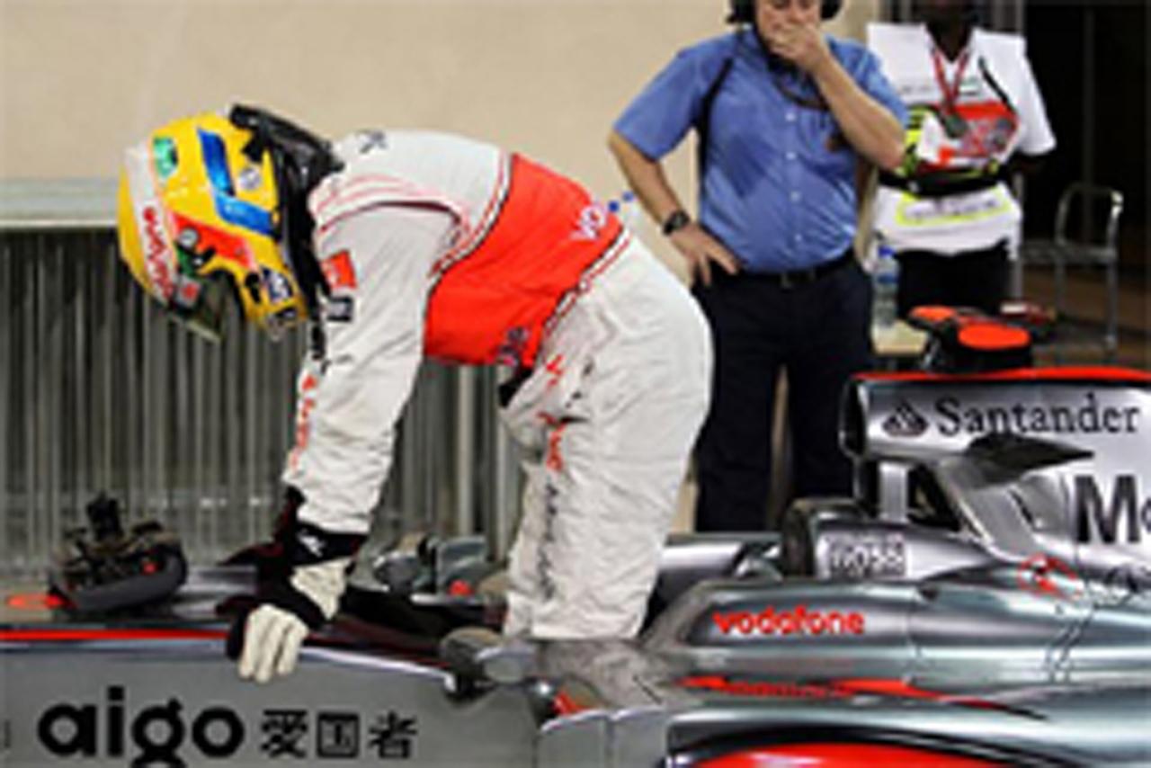 F1アブダビGP マシン重量