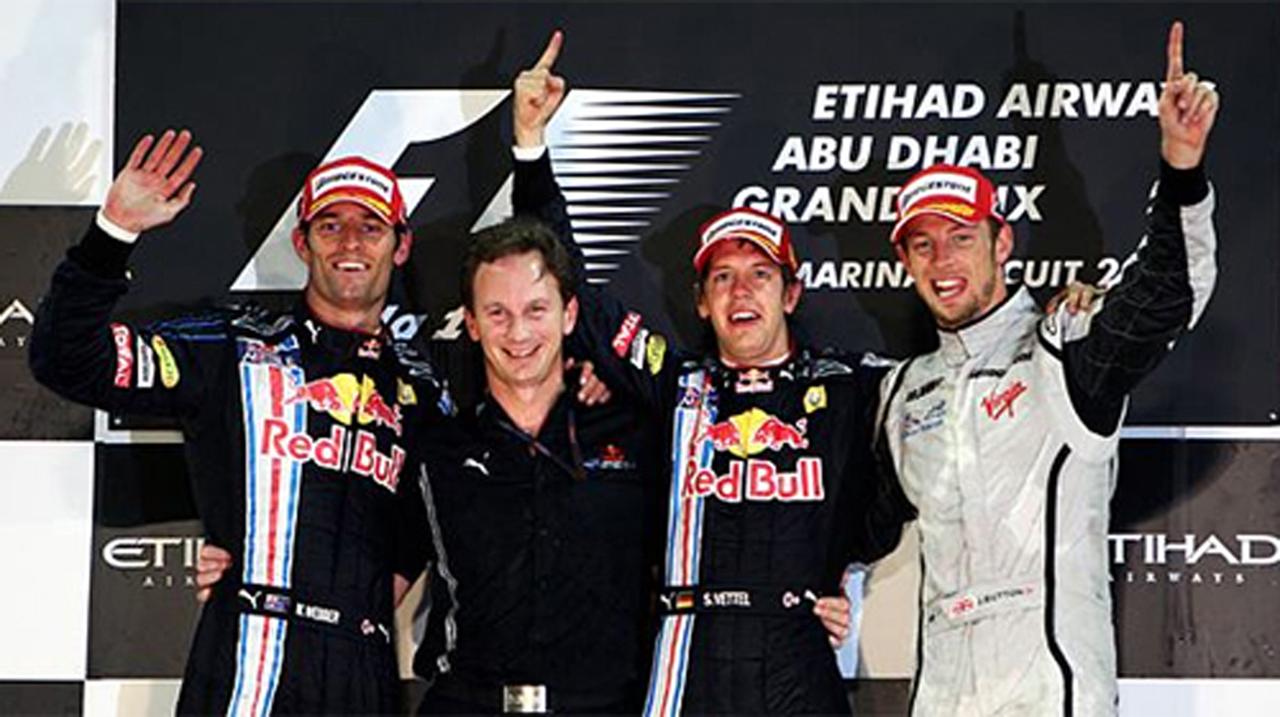 F1 アブダビGP 決勝 ドライバー
