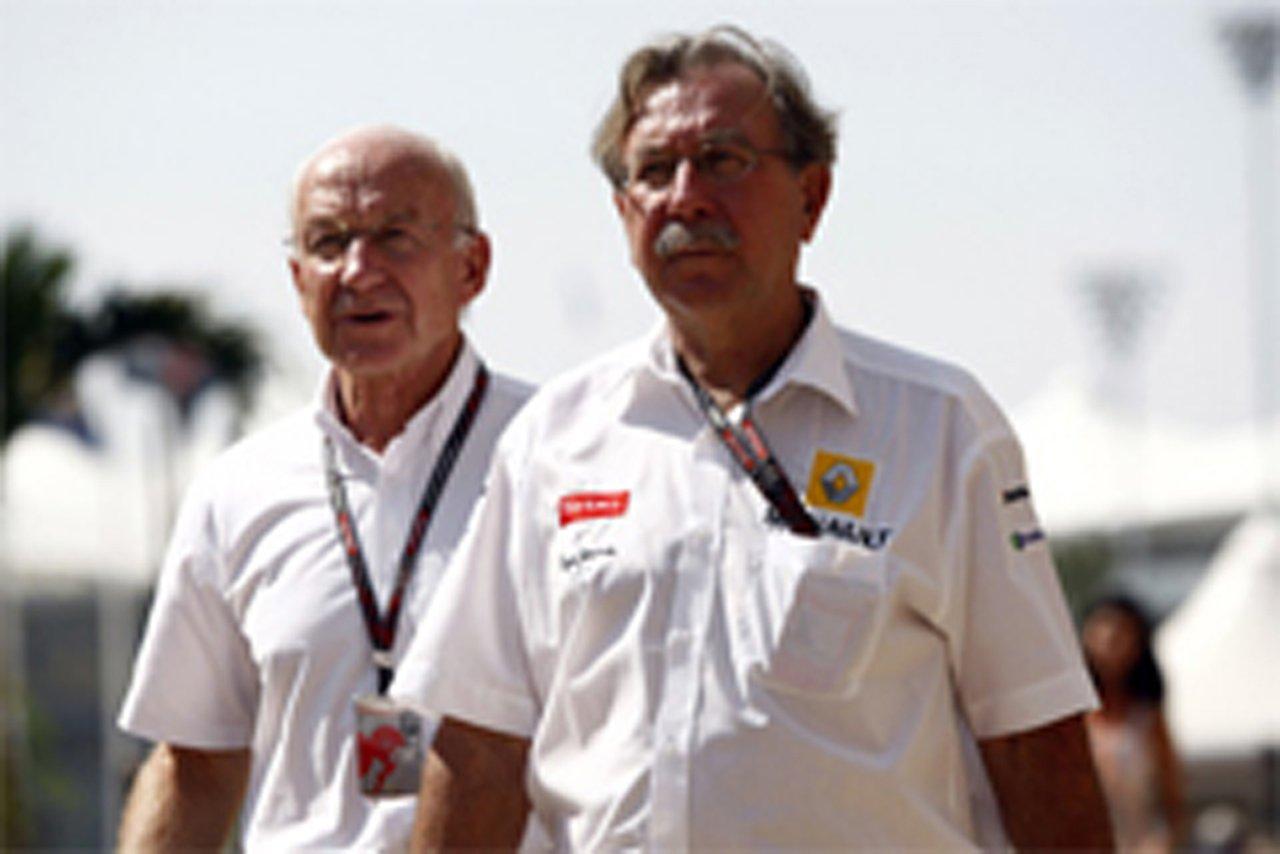 ルノーF1チーム ジャン・フランソワ・コベ 撤退を否定