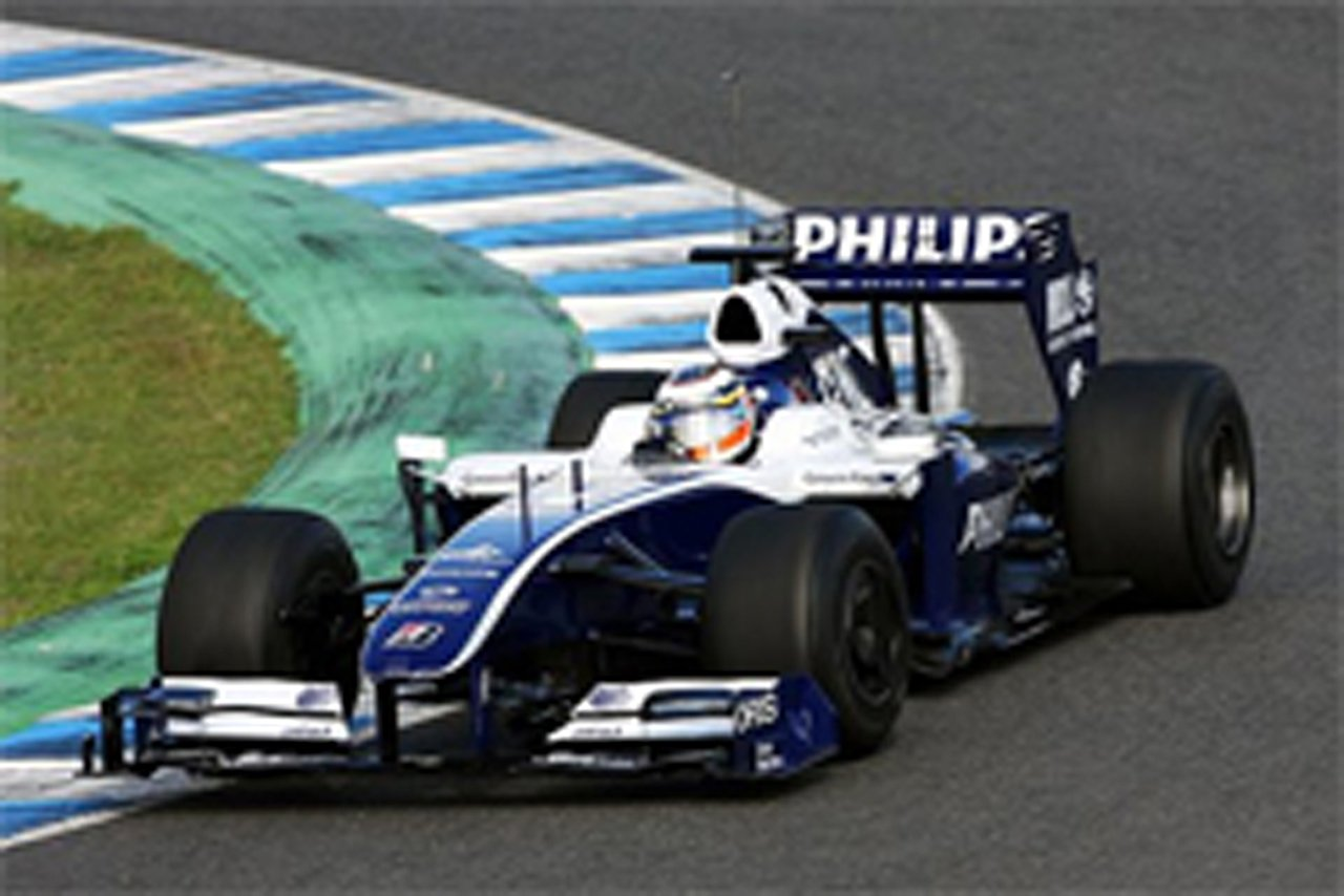 F1若手ドライバーテスト 2日目