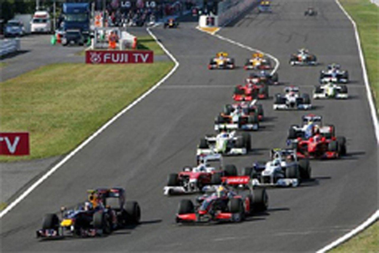 2010年 F1カレンダー