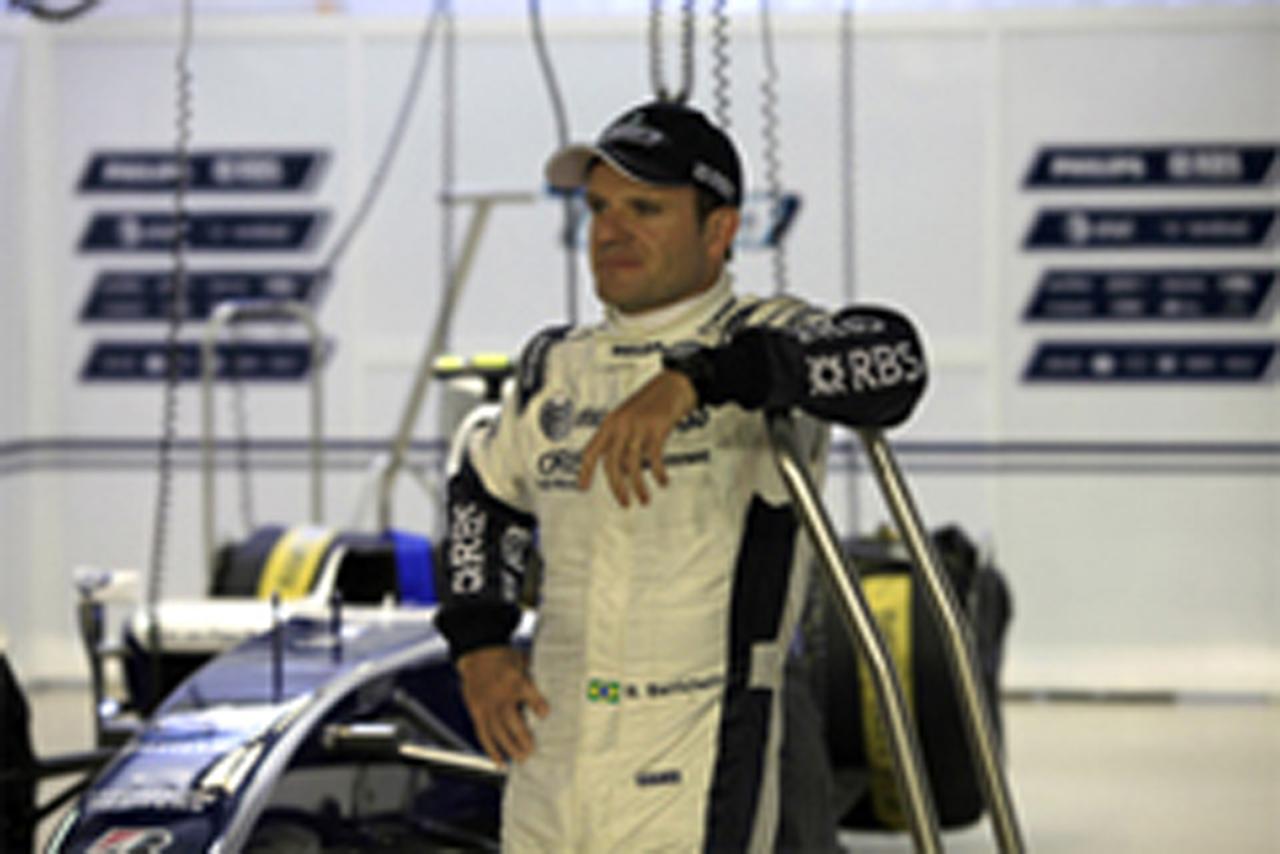 ルーベンス・バリチェロ FW32のシェイクダウンを担当