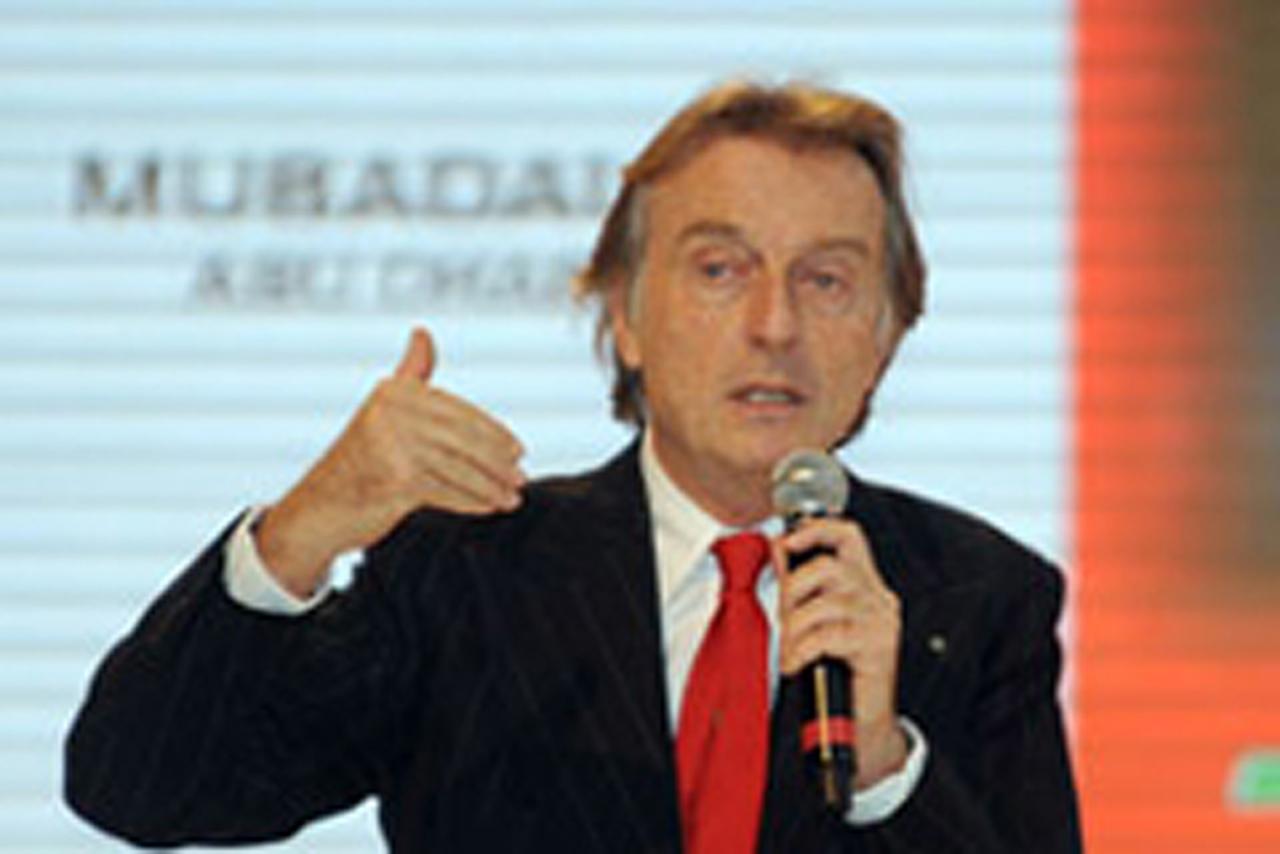 フェラーリ ルカ・ディ・モンテゼーモロ会長