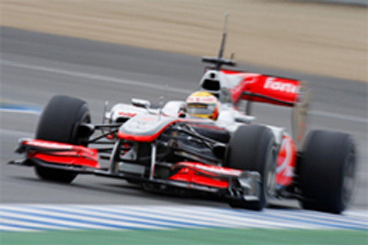 F1ヘレス合同テスト最終日