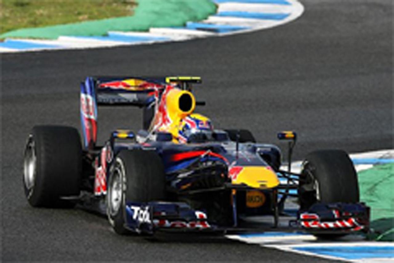 F1 ヘレス合同テスト 3日目