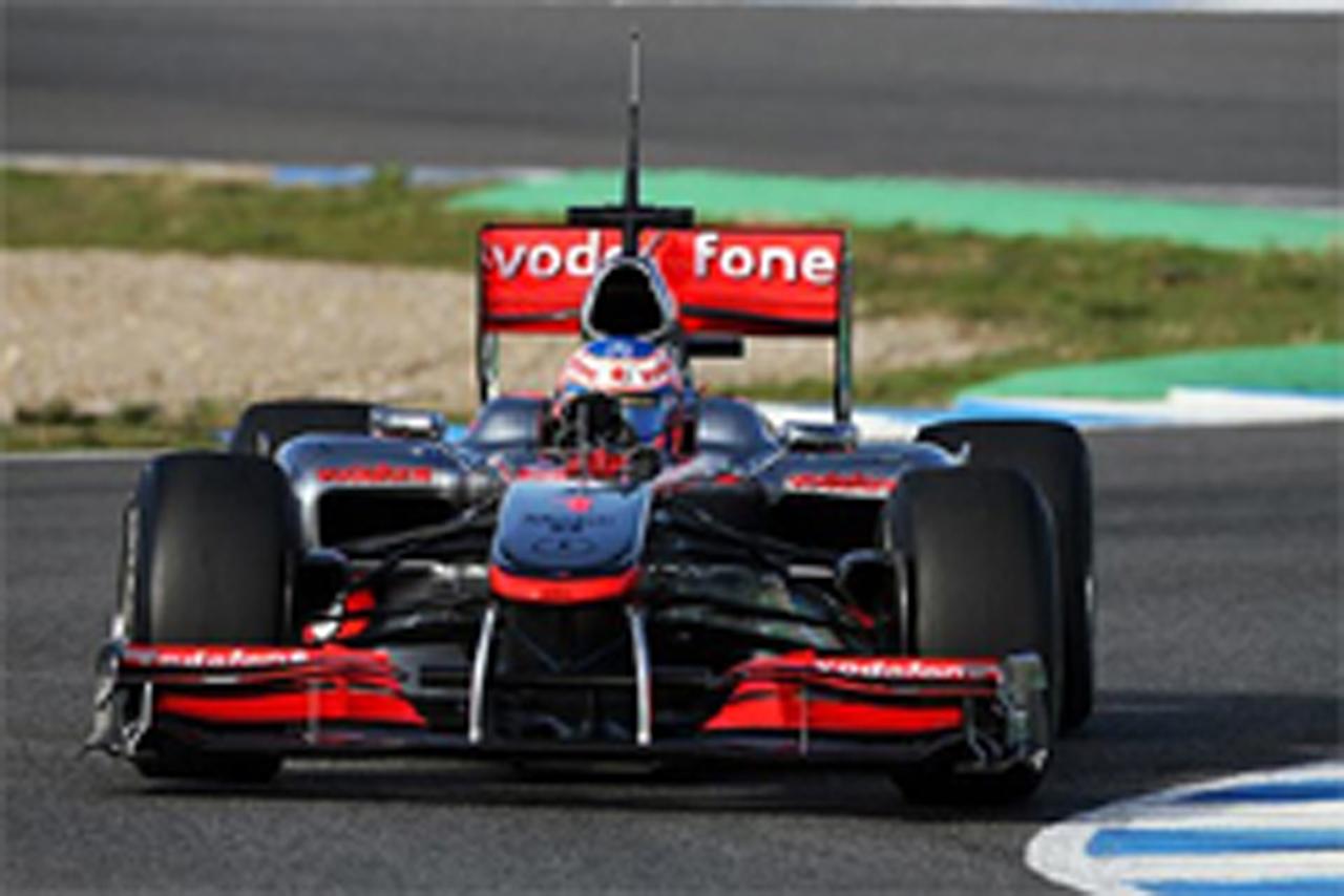 F1 ヘレス合同テスト 最終日
