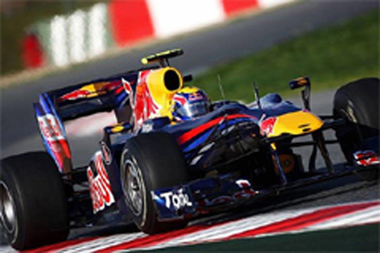 F1 バルセロナ合同テスト 初日