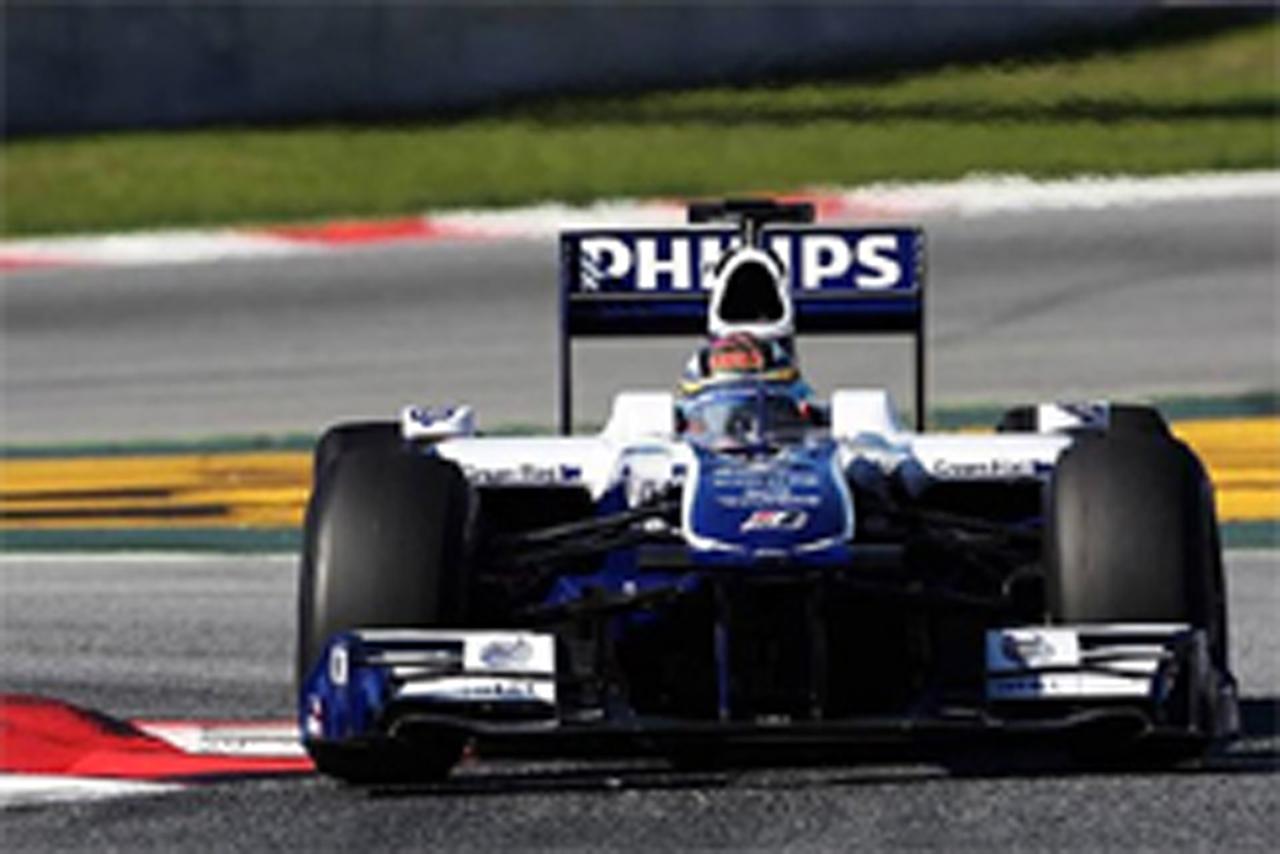 F1 バルセロナ合同テスト 2日目