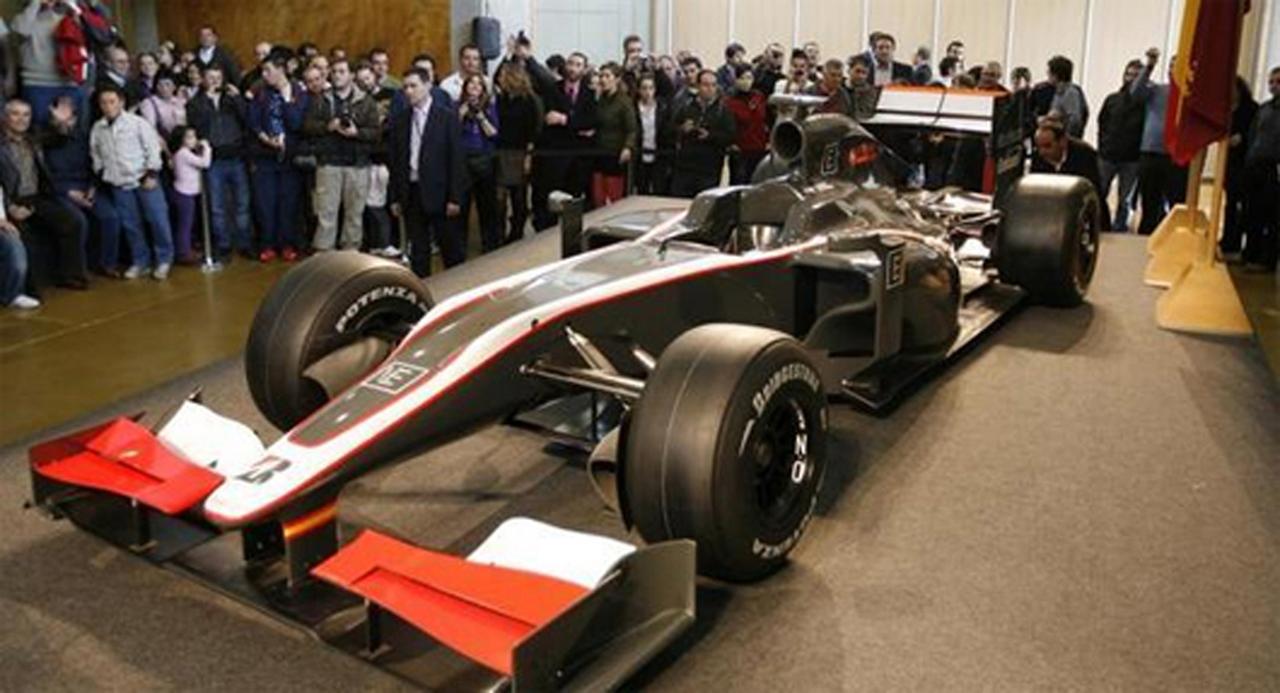 ヒスパニア・レーシング F1マシン(画像)
