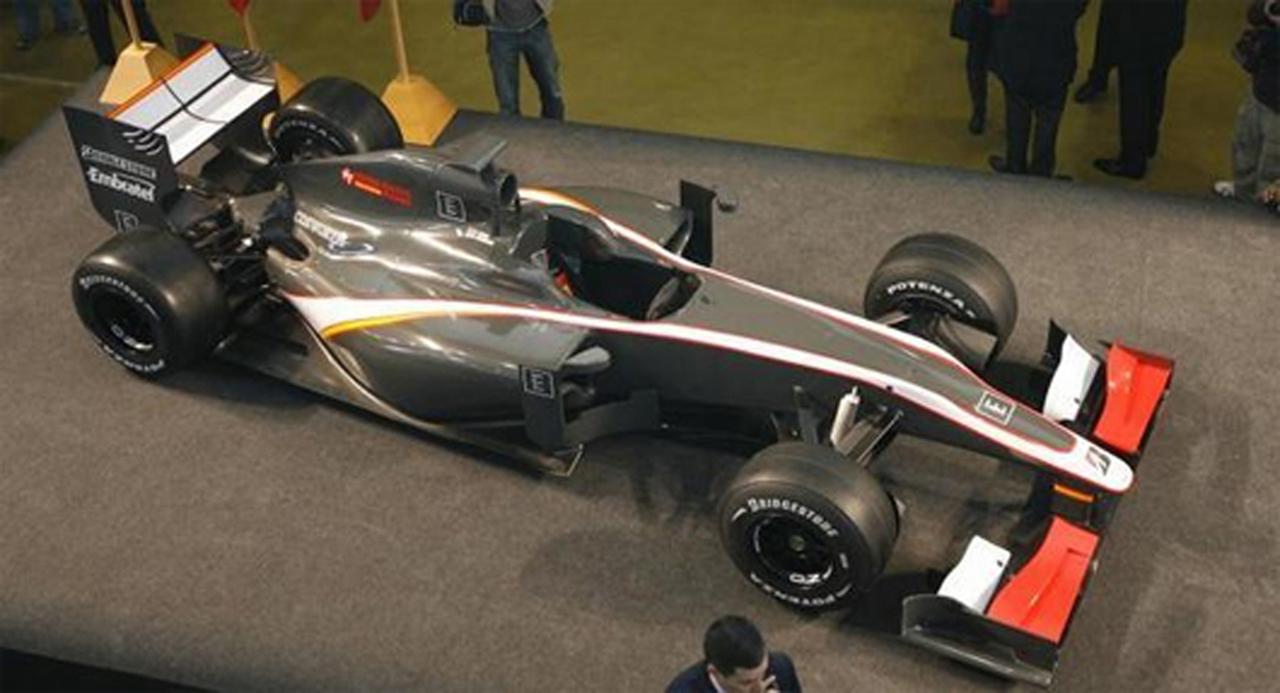 ヒスパニア・レーシング F1マシン(画像2)