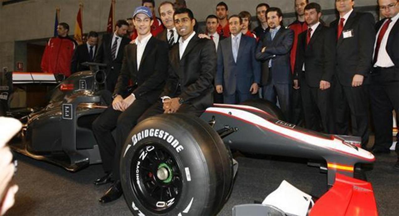 ヒスパニア・レーシング F1マシン(画像4)