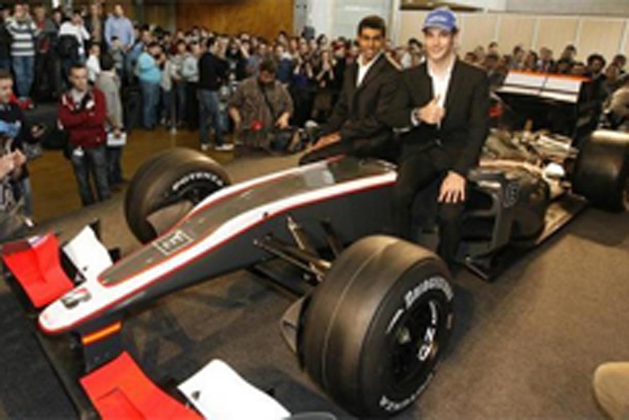 ヒスパニア・レーシング F1マシン