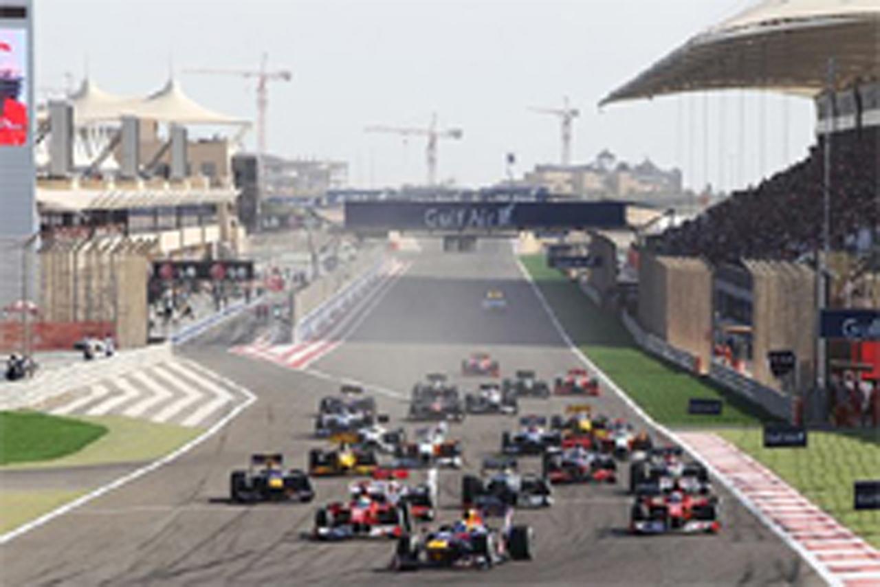F1 バーレーンGP 結果