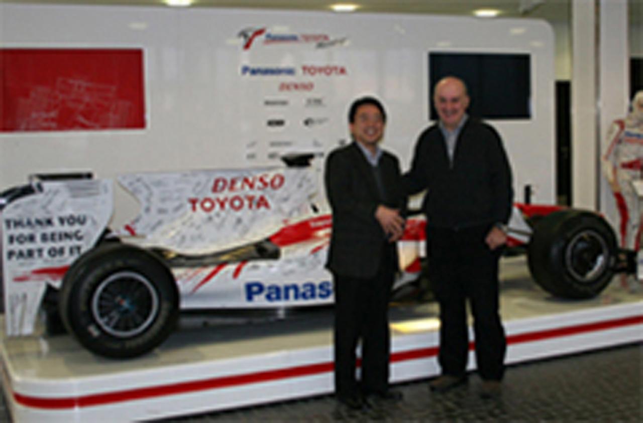 ステファンGP トヨタ 提携終了