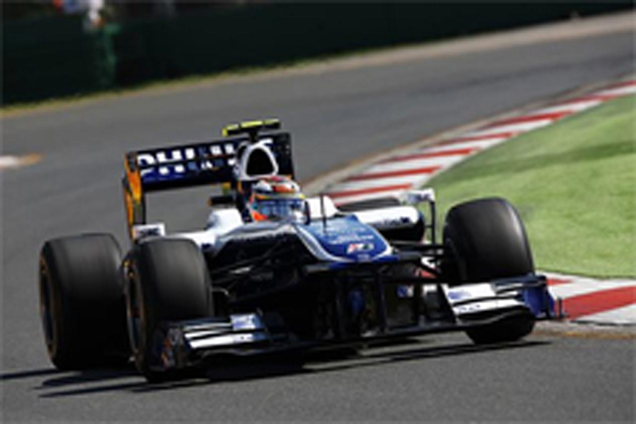 ウィリアムズ F1オーストラリアGP 初日