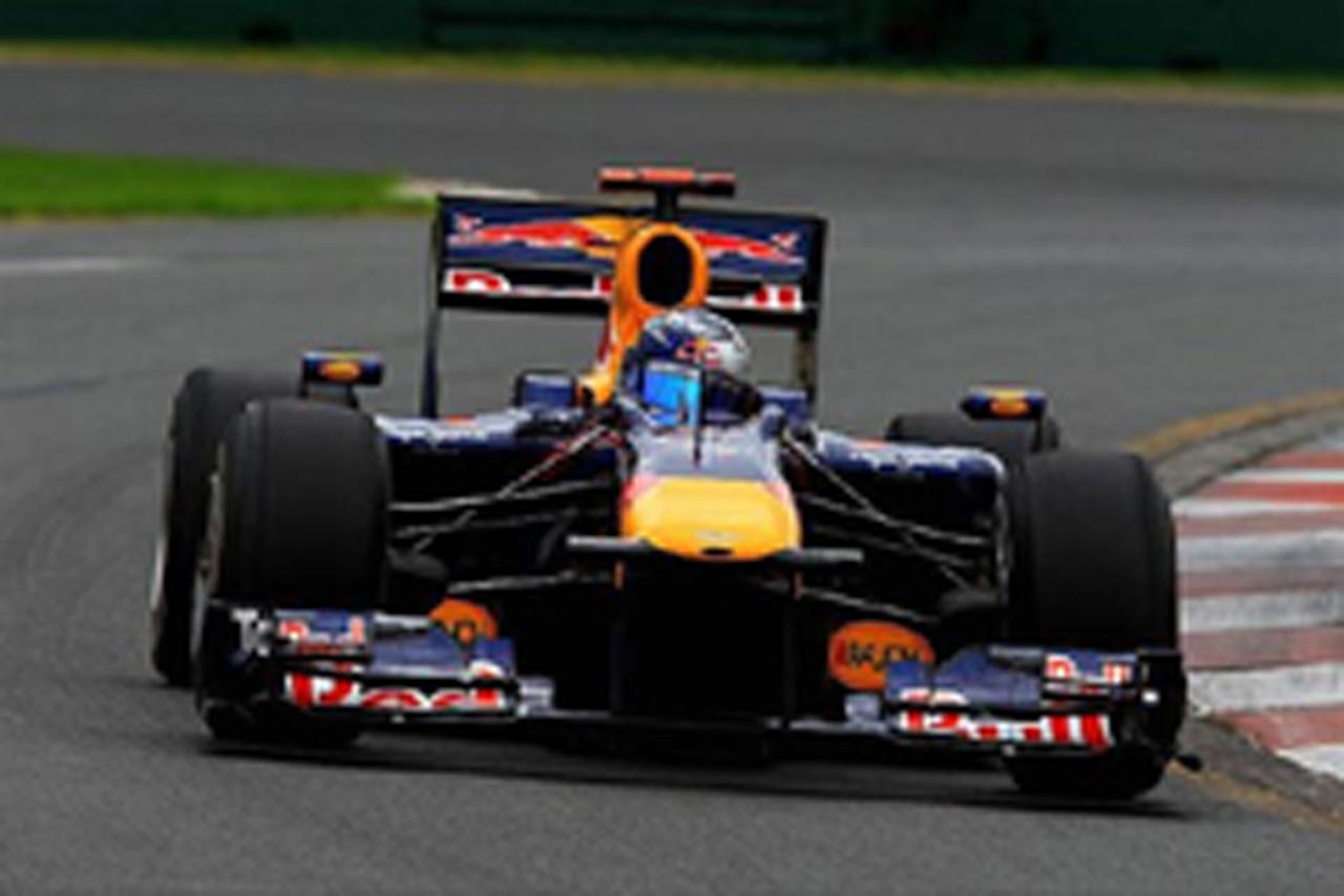 F1オーストラリアGP 予選 セバスチャン・ベッテル ポールポジション
