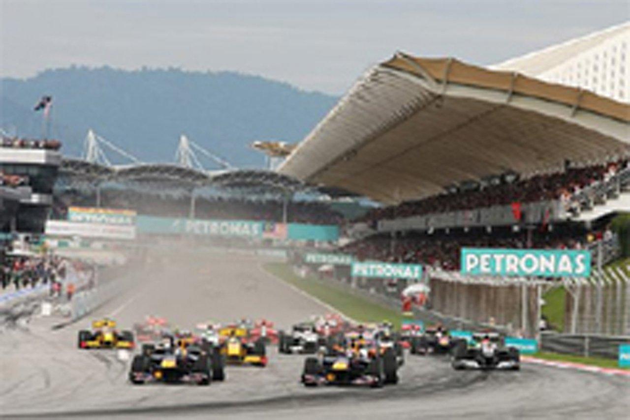 F1 マレーシアGP 結果