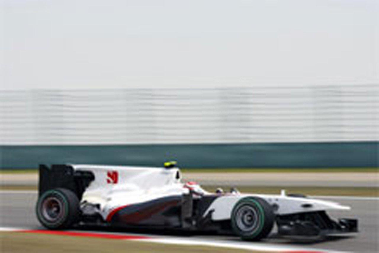 小林可夢偉 F1中国GP 予選