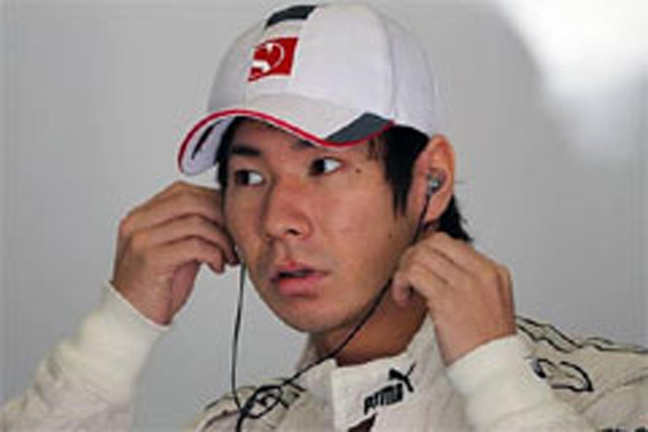 小林可夢偉 F1中国GP リタイア
