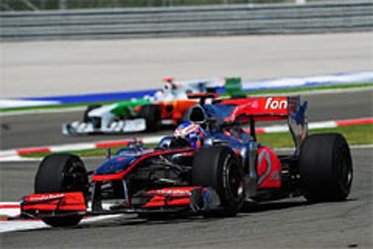 F1 トルコGP フリー走行2回目