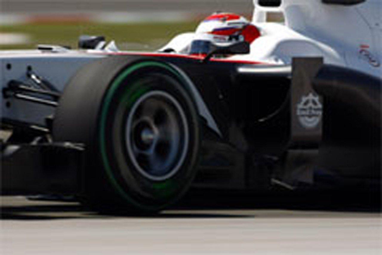 小林可夢偉 ザウバー F1 トルコGP