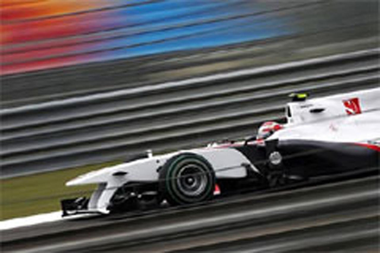 ザウバー F1トルコGP 予選